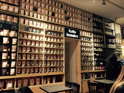 Interieur Koffie Onan Leuven