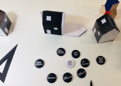House of Notes en badges