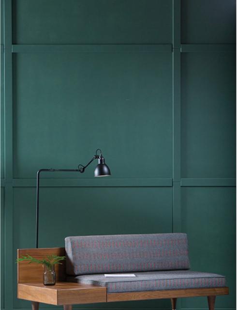 Groene muur met Loveseat BI (Kann)