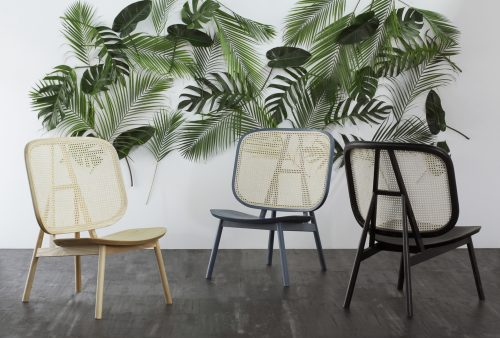 Cane lounge chair Atelier 2+