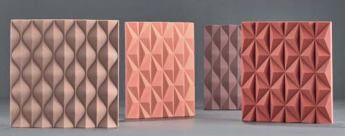Onderzetters geïnspireerd op origami