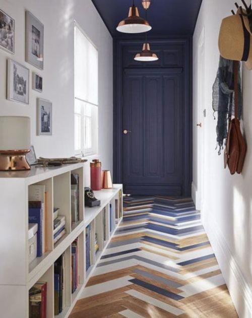 Accent op deur en plafond