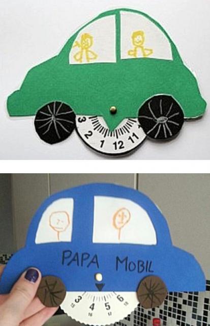 Parkeerkaarthouder knutselen