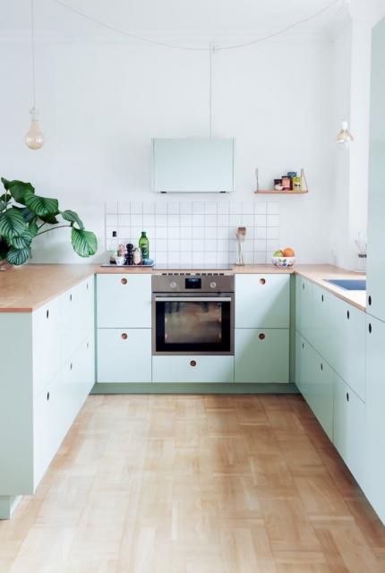 Keuken met lades