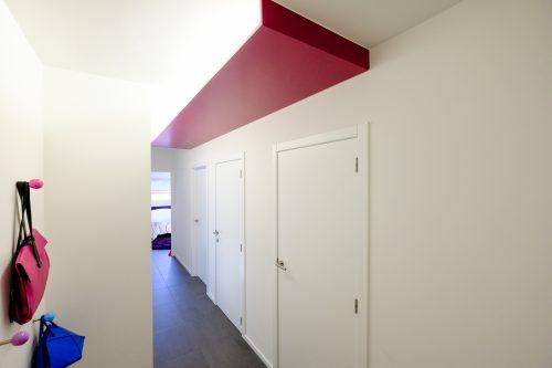 Verlaagd plafond in MDF