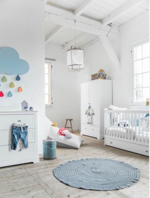 witte basis babykamer