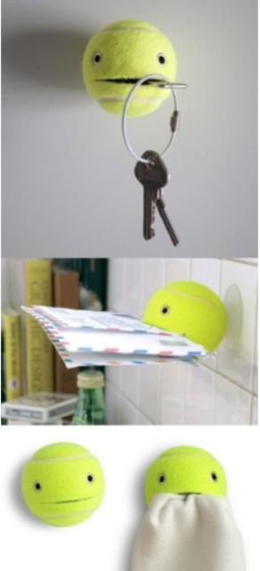 Tennisbalhouder