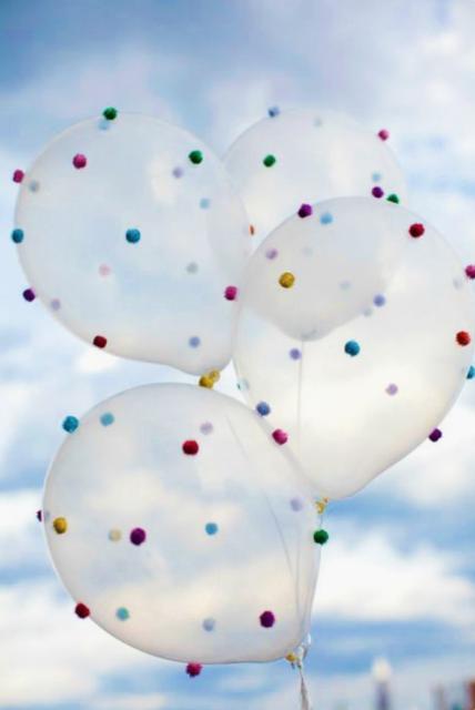 Ballon met vilt