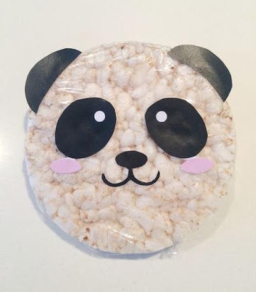 Panda rijstwafel