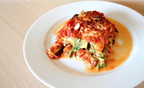Groentelasagne zonder pasta