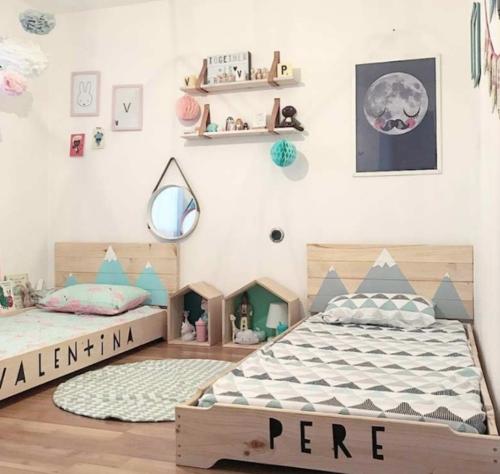 Kinderkamer scandinavisch