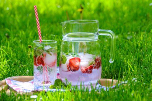 water met smaakje