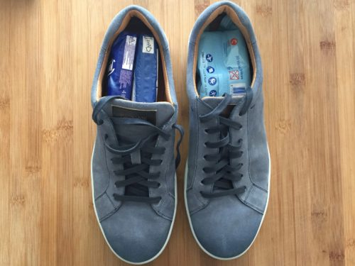 schoenen opvullen