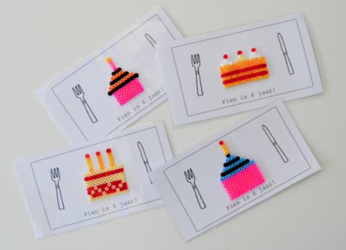 Uitnodigingen met strijkparels