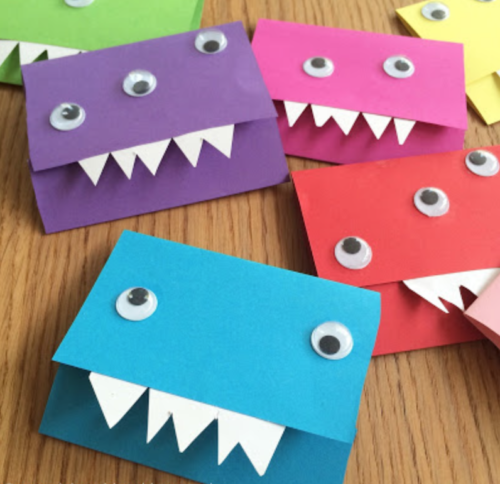 monsteruitnodiging kinderfeestje