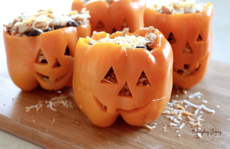 Halloween monsterpaprika's