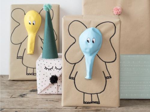 Cadeautjes inpakken_ballonnen