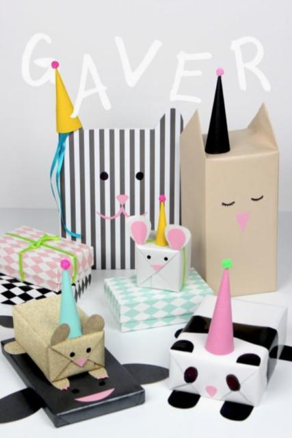 Cadeautjes inpakken_dieren