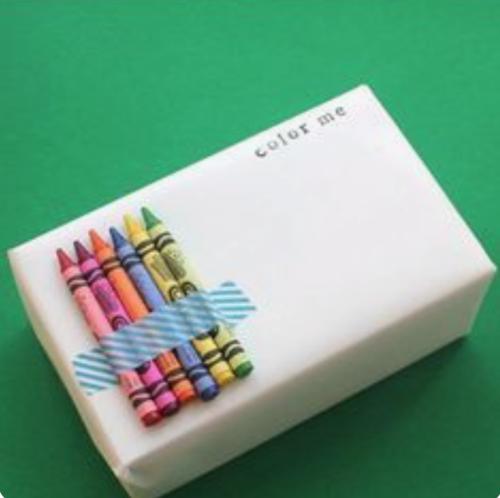 Cadeautjes inpakken_wit papier met wasco