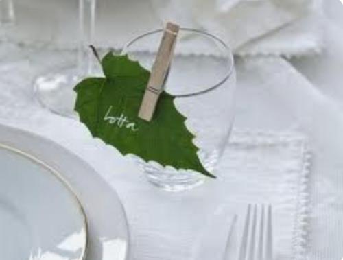 Feesttafel naam op blad_Tips Like Sugar