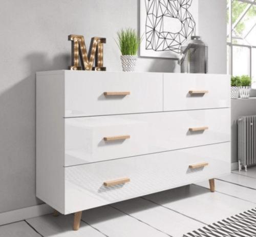 Ladenkast hoogglans Scandinavisch design