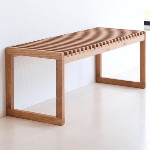 Zitbank hal hout design