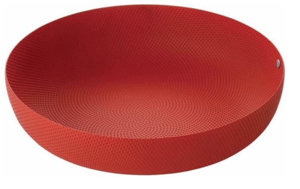 Fruitschaal Basket 21 Alessi rood